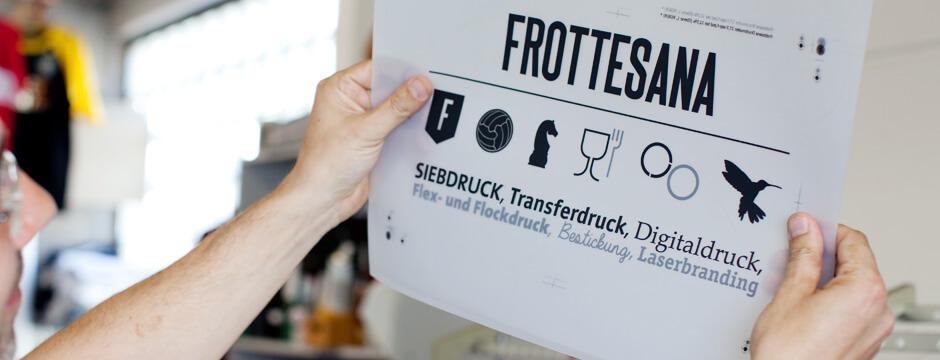 Methoden der Textilveredelung bei der Frottesana GmbH aus Stuttgart - Ihr Partner für Textildruck und T-Shirtdruck